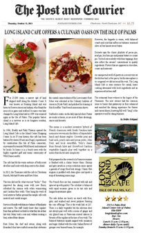 Long Island Cafe Restaurant Isle of Palms Review Post and Courier